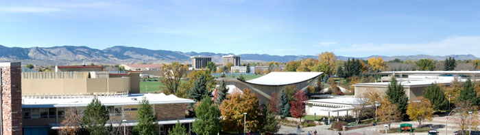 view of CSU campus